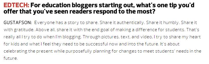 BradGustafsonBlogging