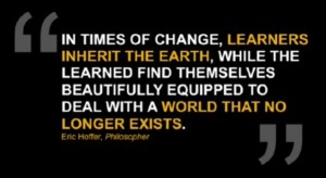 Learners Inherit the Earth